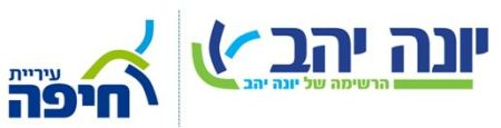 לוגו עירית חיפה יונה יהב
